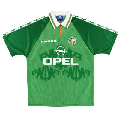 1996-98 Ireland Umbro Home Shirt *Mint* L