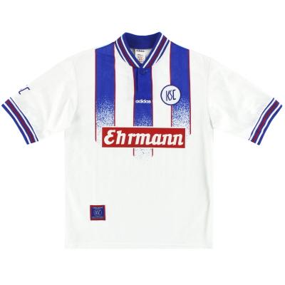 1996-98 Karlsruhe adidas Home Shirt Y