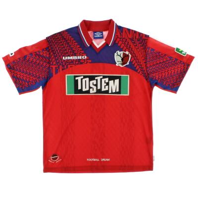 1996-98 Kashima Antlers Home Shirt L