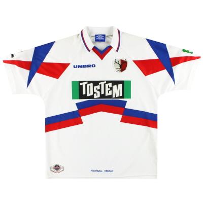 1996-98 Kashima Antlers Umbro Away Shirt *Mint* XL