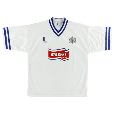 1996-98 Leicester Fox Leisure Away Shirt *As New* XL