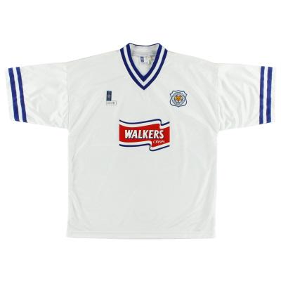 1996-98 Leicester Away Shirt *As New* XL