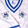 1996-98 Leicester Away Shirt Cottee #10 M