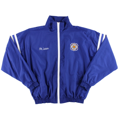 1996-98 Leicester Fox Leisure Track Jacket XL