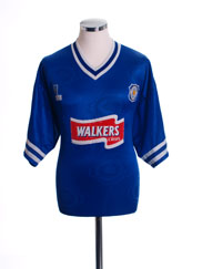 1996-98 Leicester Home Shirt L