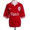 1996-98 Liverpool Home Shirt Fowler #9 M