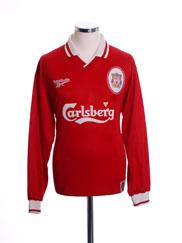 1996-98 Liverpool Home Shirt L/S M