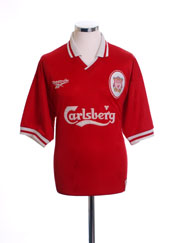 1996-98 Liverpool Home Shirt M