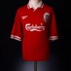 1996-98 Liverpool Home Shirt Owen M