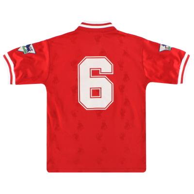 1996-98 Liverpool Reebok Home Shirt #6 L.Boys