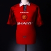 1996-98 Manchester United Home Shirt Sheringham #10 Y