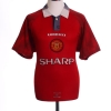 1996-98 Manchester United Home Shirt Cantona #7 L