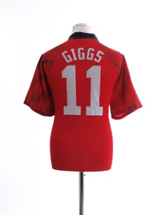 1996-98 Manchester United Home Shirt Giggs #11 L