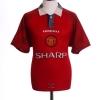 1996-98 Manchester United Home Shirt Ooh Aah #7 XL