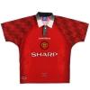 1996-98 Manchester United Home Shirt Cantona #7 M