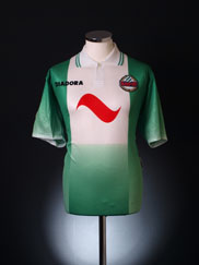 1996-98 Rapid Vienna CL Home Shirt *Mint* L