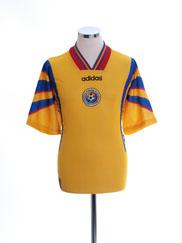 1996-98 Romania Home Shirt *Mint* L