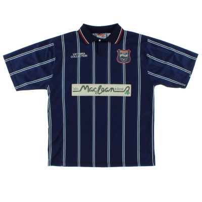 1996-98 Ross County Home Shirt M