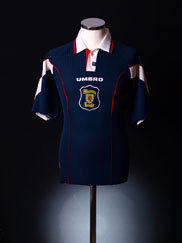 1996-98 Scotland Home Shirt XL