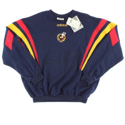 1996-98 Spain adidas Sweatshirt *w/tags* XL