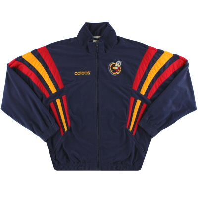 1996-98 Spain adidas Training Jacket *Mint* M
