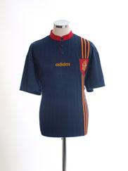 1996-98 Spain Away Shirt L