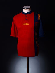 1996-98 Spain Home Shirt XL