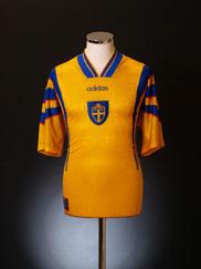 1996-98 Sweden Home Shirt XL