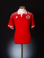 1996-98 Switzerland Home Shirt L