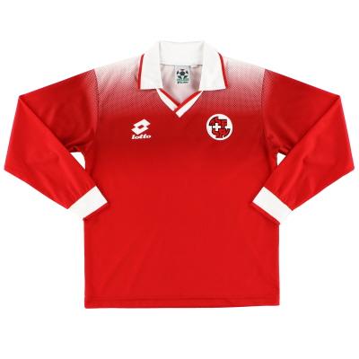 1996-98 Switzerland Home Shirt L/S XL.Boys