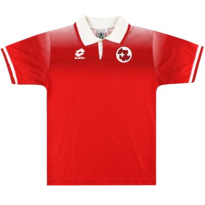 1996-98 Switzerland Lotto Home Shirt S