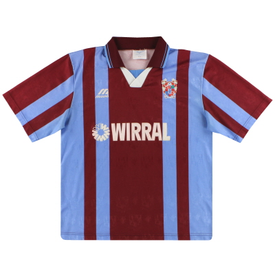 1996-98 Tranmere Rovers Mizuno Away Shirt L