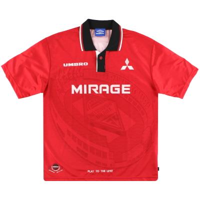 1996-98 Urawa Red Diamonds Umbro Home Shirt M