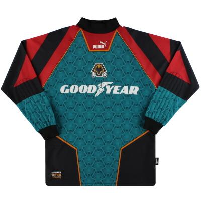 1996-98 Wolves Puma Goalkeeper Shirt M