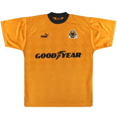 1996-98 Wolves Puma Training Shirt L