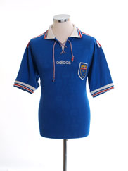 1996-98 Yugoslavia Home Shirt L