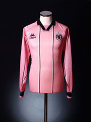1996-99 Palermo Home Shirt L/S *Mint* XL
