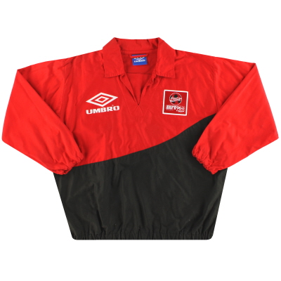 1996 European Championship Umbro Coca-Cola Drill Top L