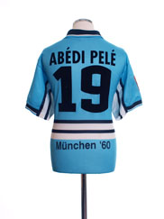 1997-98 1860 Munich Home Shirt Abedi Pele #19 L