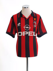 1997-98 AC Milan Home Shirt L
