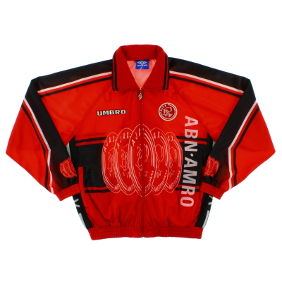 1997-98 Ajax Umbro Track Jacket *Mint* L