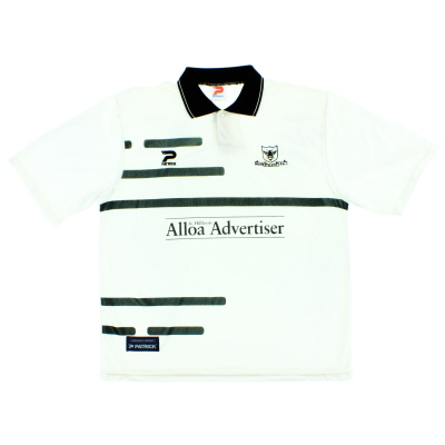 1997-98 Alloa Athletic Away Shirt XL