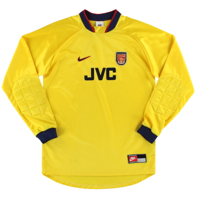 1997-98 Arsenal Nike Goalkeeper Shirt XL.Boys