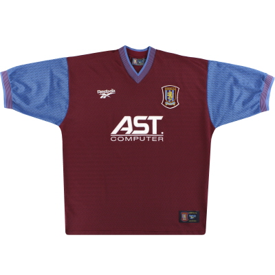 1997-98 Aston Villa Reebok Home Shirt M
