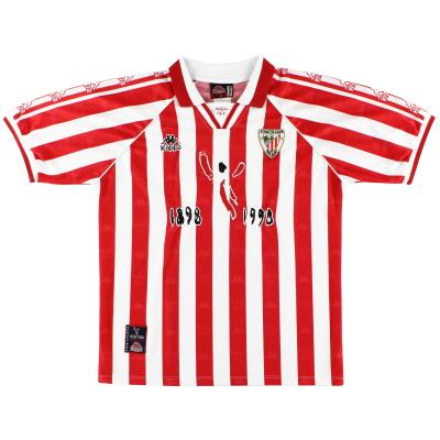 1997-98 Athletic Bilbao Centenary Home Shirt L