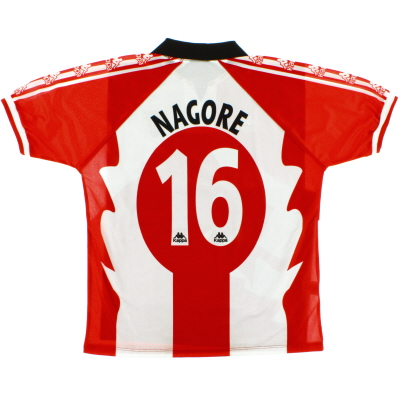 1997-98 Atletico Bilbao Centenary Home Shirt Nagore #16 *Mint* XL