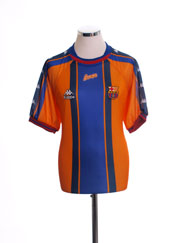 1997-98 Barcelona Away Shirt L