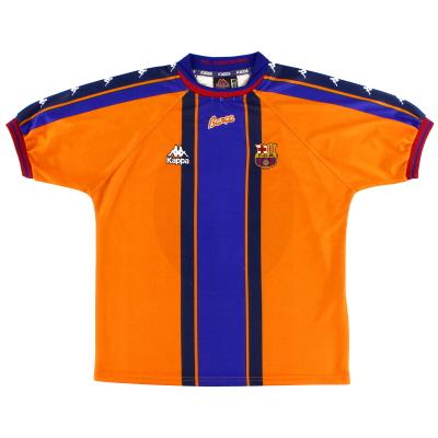 1997-98 Barcelona Away Shirt M