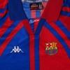 1997-98 Barcelona European Home Shirt M