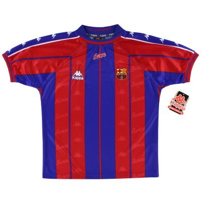1997-98 Barcelona Home Shirt *BNIB* S